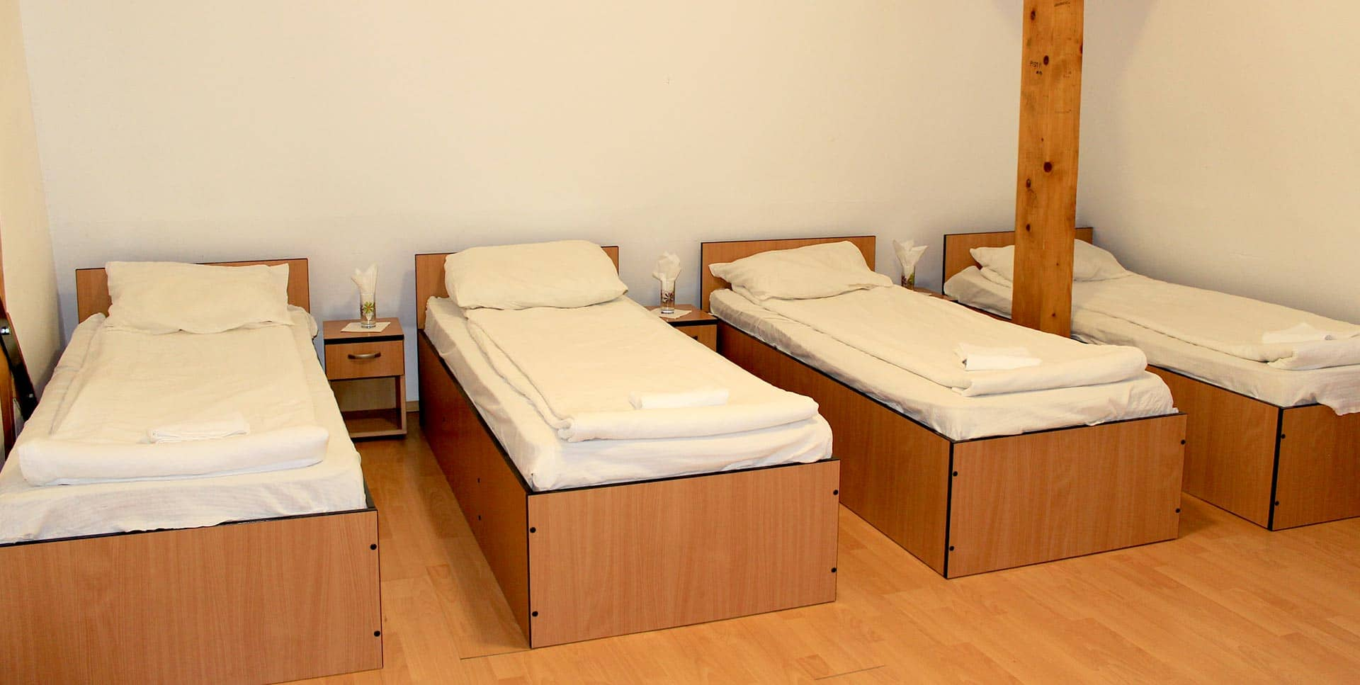 Rooms and Beds in Hostel Sport
